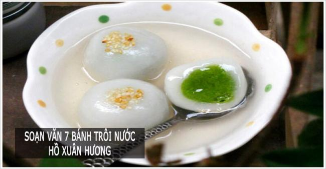 soạn bài bánh trôi nước Hồ Xuân Hương
