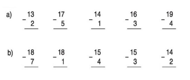 Câu hỏi bài 1 trang 110 sgk toán lớp 1