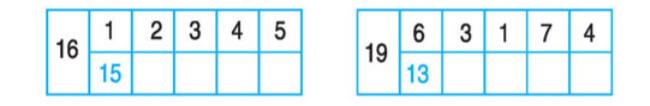 Câu hỏi bài 3 trang 110 sgk toán lớp 1