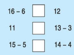 Câu hỏi bài 4 trang 113 sgk toán lớp 1