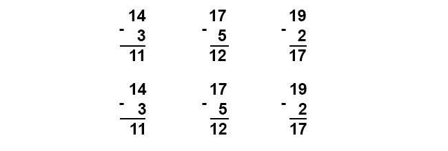 Đáp án bài 1 trang 111 sgk toán lớp 1