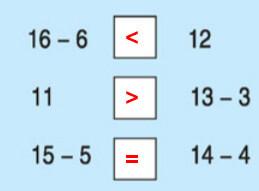 Đáp án bài 4 trang 113 sgk toán lớp 1