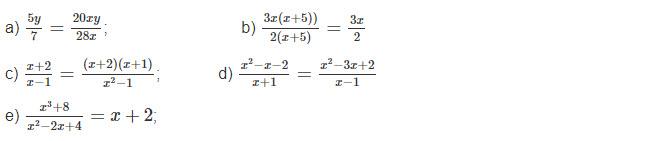 Đề bài 1 trang 36 sách toán lớp 8