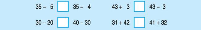 Câu hỏi bài 3 trang 160 SGK Toán lớp 1