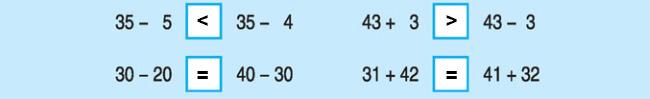 Đáp án bài 3 trang 160 SGK Toán lớp 1