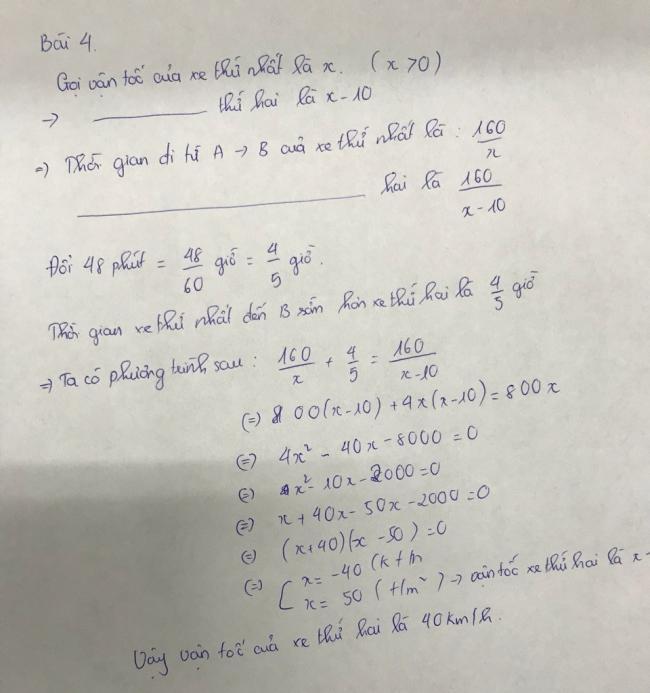 đáp án bài 4 đề thi toán chung Vĩnh long vào lớp 10 năm 2018