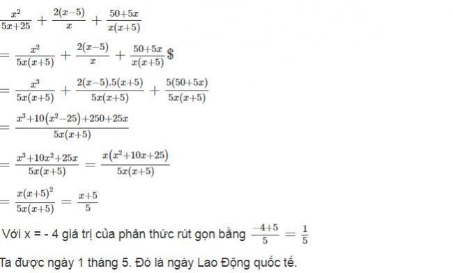 Đáp án bài 27 trang 48 sách giáo khoa toán lớp 8