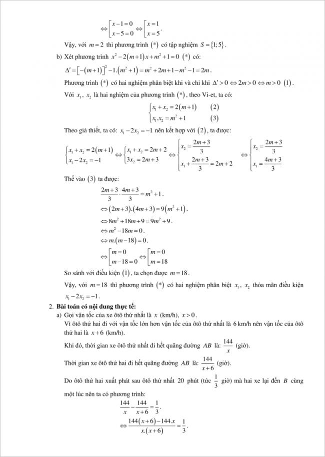 đáp án bài 3 ý 2 đề toán vào lớp 10 tỉnh Hải Phòng 2018