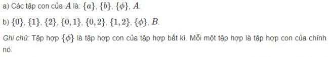 Hướng dẫn làm toán đại số lớp 10 bài 3 trang 13 sgk