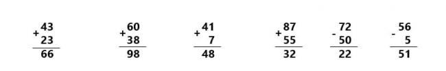 Đáp án bài 3 trang 180 SGK Toán lớp 1