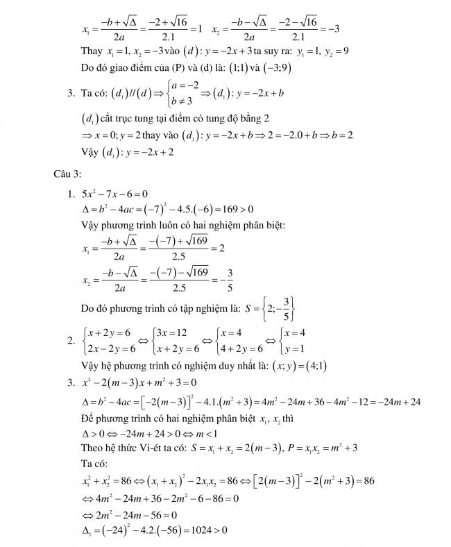 đáp án đề toán long an 2018 2