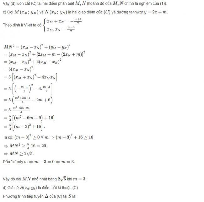 Đáp án bài 11 trang 46 sgk giải tích lớp 12 phần 3