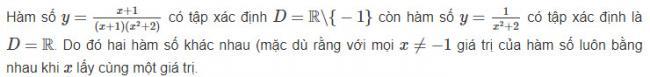 Cách giải toán đại số lớp 10 bài 1 sgk trang 50
