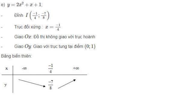 Đáp án bài 2 trang 49 sgk đại số lớp 10