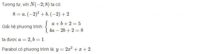 Hướng dẫn làm bài 3 trang 49 sgk đại số lớp 10