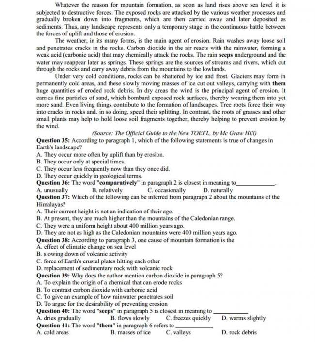 Đề thi thử môn Anh thptqg năm 2018 trường Chuyên Lê Quý Đôn – Quảng Trị lần 2 - trang 4