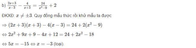 Cách giải bài 1 trang 62 sgk đại số lớp 10