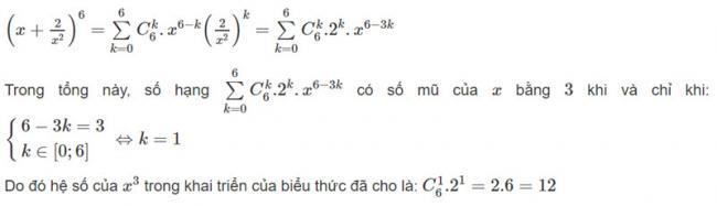 Đáp án bài 2 trang 58 SGK toán đại số và giải tích lớp 11
