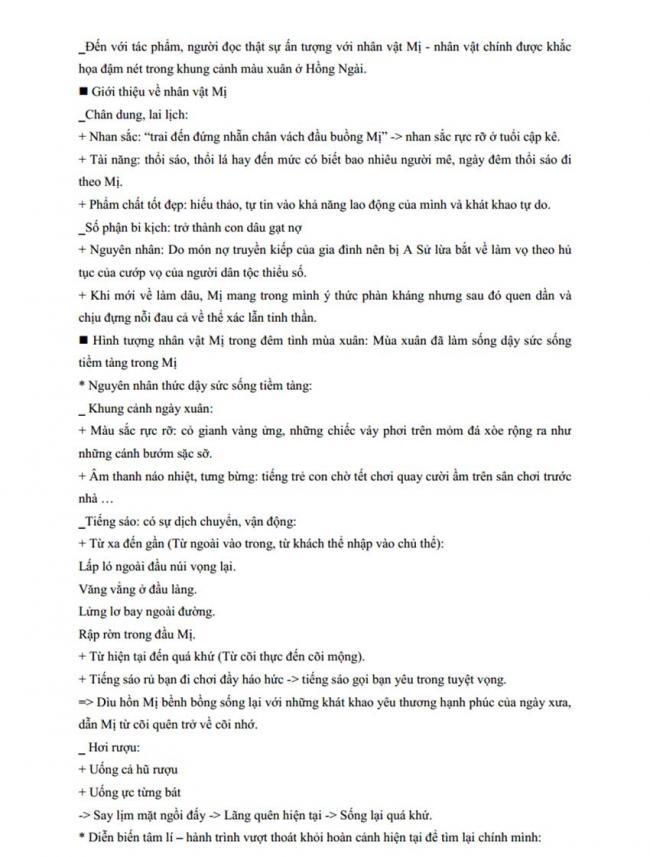 Đáp án Đề thi thử môn Văn thptqg năm 2018 trường Nguyễn Viết Xuân – Vĩnh Phúc lần 3 trang 4