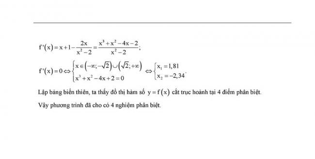đáp án đề thi thử toán thpt Hoàng văn thụ