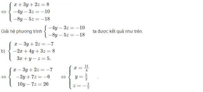 Đáp án bài 5 trang 68 sgk đại số lớp 10