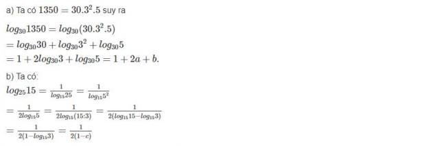 Đáp án bài 5 trang 68 sgk giải tích lớp 12