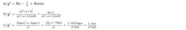 Đáp án bài 5 trang 78 sgk giải tích lớp 12