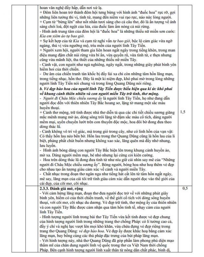 Đáp án Đề thi thử môn Văn thptqg năm 2018 trường Đồng Đậu – Vĩnh Phúc lần 1 trang 3