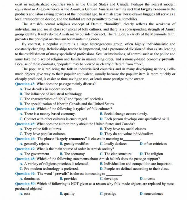 Đề thi thử môn Anh thptqg năm 2018 trường THPT Nguyễn Thị Minh Khai - Hà Tĩnh trang 5