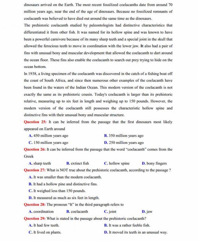 Đề thi thử môn Anh thptqg năm 2018 trường THPT chuyên Chu Văn An Lạng Sơn trang 4