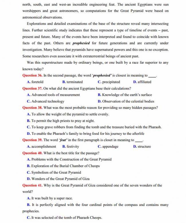 Đề thi thử môn Anh thptqg năm 2018 trường THPT chuyên Lê Quý Đôn Điện Biên trang 5