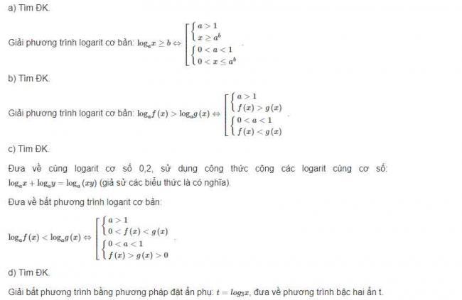 Hướng dẫn giải bài 2 trang 90 sgk giải tích lớp 12