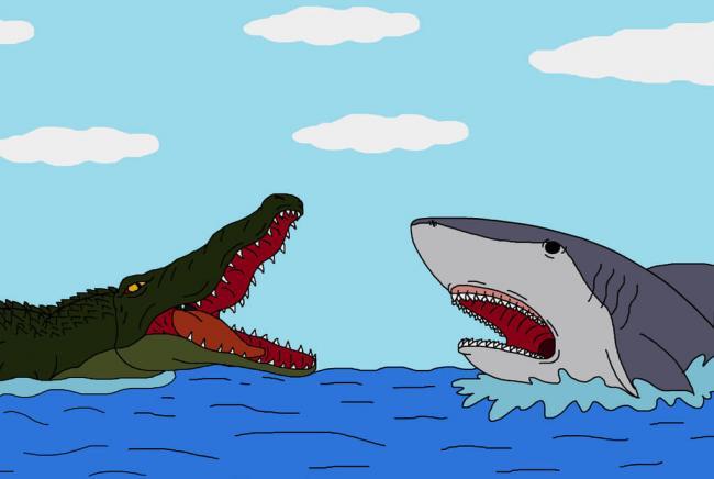 Soạn bài tập đọc Cá sấu sợ cá mập trang 74 SGK Tiếng Việt 2 tập 2