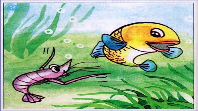 Soạn bài tập đọc Tôm càng và Cá con trang 68 SGK Tiếng Việt 2 tập 2