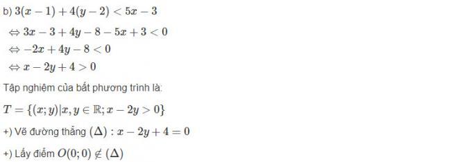 Cách giải bài 1 trang 99 sgk đại số lớp 10