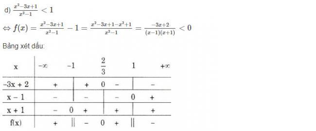 Cách giải bài 2 trang 94 sgk đại số lớp 10