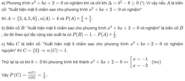Đáp án bài 4 trang 74 SGK toán đại số và giải tích lớp 11