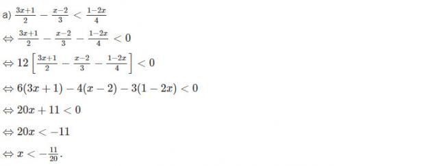 Đáp án bài 4  trang 88 sgk đại số lớp 10