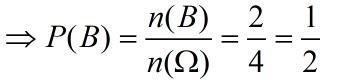 P b bằng 1 phần 2