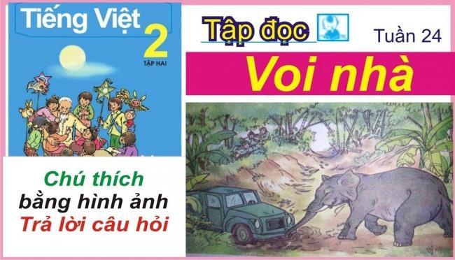Soạn bài tập đọc Voi nhà trang 56 SGK Tiếng Việt 2 tập 2