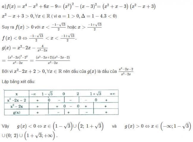 Đại Số lớp 10 đáp án bài 11 trang 107 sgk