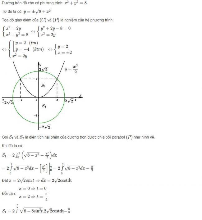 Đáp án bài 3 trang 121 sgk giải tích lớp 12 phần 1