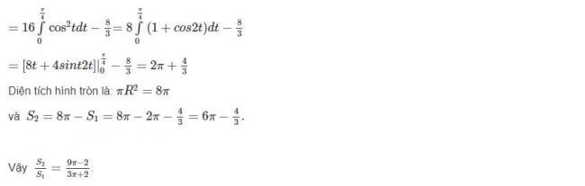 Đáp án bài 3 trang 121 sgk giải tích lớp 12 phần 2