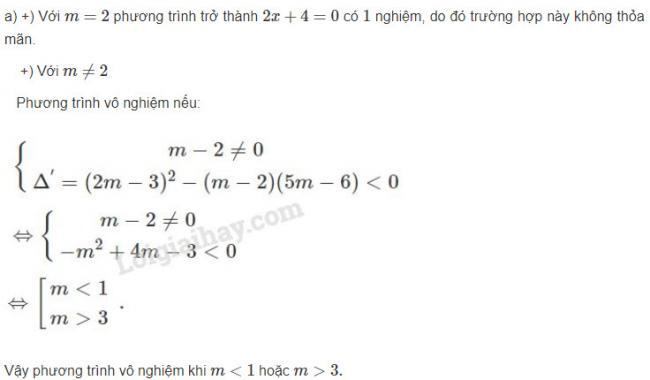 Hướng dẫn giải bài 4 trang 105 sgk đại số lớp 10