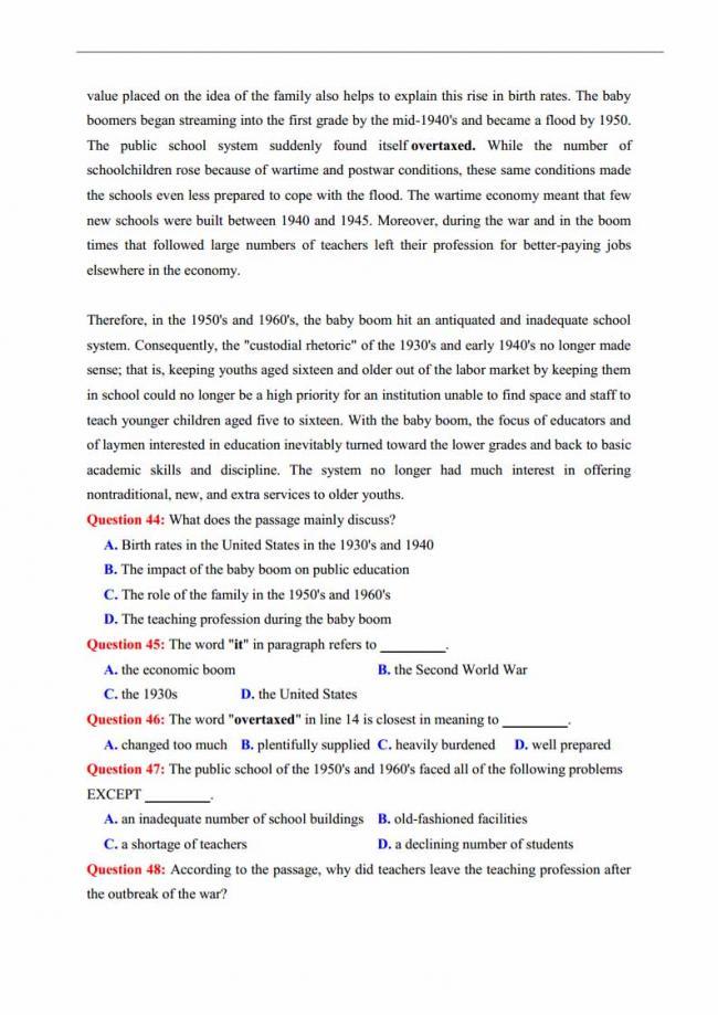 Đề thi thử môn Anh thptqg năm 2018 trường THPT chuyên Trần Phú Hải Phòng trang 8