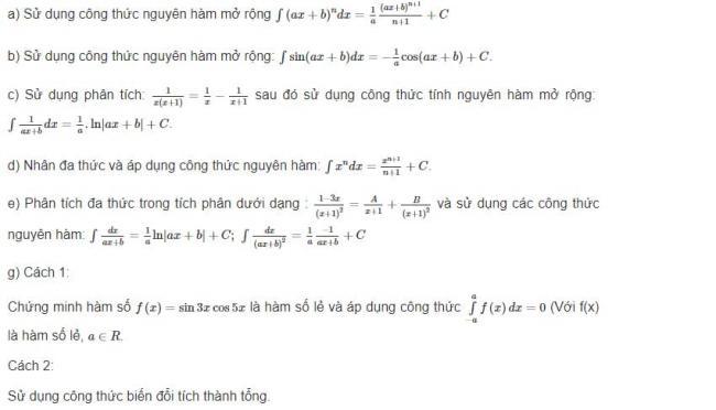 Hướng dẫn giải bài 1 trang 112 sgk giải tích lớp 12