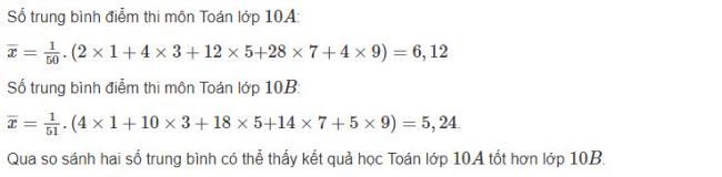 Hướng dẫn giải bài 2 trang 122 sgk đại số lớp 10