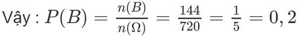 Đáp án bài 5 câu b trang 76 SGK toán đại số và giải tích lớp 11