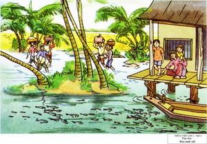 Hướng dẫn soạn bài tập đọc Mùa nước nổi trang 19 SG Tiếng Việt 2 tập 2