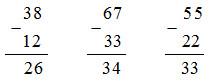 bài tập 2 trang 09 sách giáo khoa toán 2.